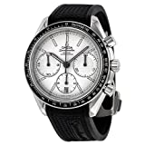 Omega Speedmaster Racing Automatic Chronograph Silver Dial Stainless Steel Mens Watch 32632405002001 (Color: silver)
