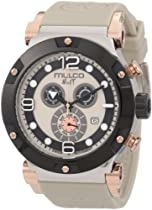 Mulco Unisex MW5-1623-095 Nuit Track Chronograph Swiss Movement Watch