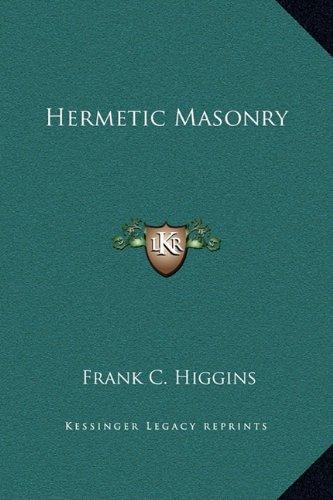 Hermetic Masonry