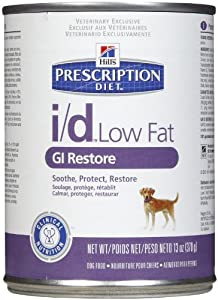 Hill's Prescription Diet i/d Low Fat GI Restore Canine - 12x13oz