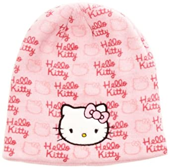 Hello Kitty H11F4047 Girl's Hat Pink 54 cm: Amazon.co.uk: Clothing