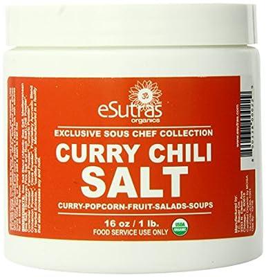 Esutras Organics Chili Curry Salt, 16 Ounce from eSutras Organics