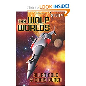 The Wolf Worlds: The Sten Series, Vol. 2 by Allan Cole and Chris Bunch