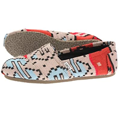 Toms Mens Classics Red Sand Knit 001190A12-Redkt 9