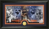 Mike Ditka Bronze Coin Retired Panoramic Photo Mint