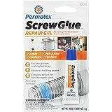 Permatex 28205 Screw Glue Repair Gel, 0.18 fl. oz, 1 Pack (5G)