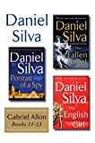Daniel Silvas Gabriel Allon Collection, Books 11 - 13: Portrait of a Spy, The Fallen Angel, and The English Girl