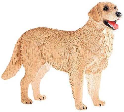 MOJO Fun 387198 Golden Retriever - Realistic Family Dog Breed Toy Replica