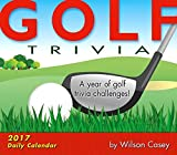 Golf Trivia 2017 Boxed/Daily Calendar