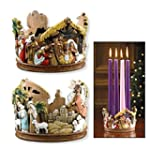 Nativity Advent Candleholder by AutoM