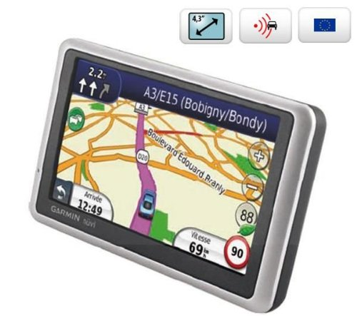 Garmin Nuvi 1240 Satellite Navigation System with UK & Western Europe (23 Countries)