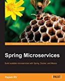 img - for Spring Microservices book / textbook / text book