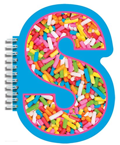 iscream Letter S Shaped Initial Notebook - 1