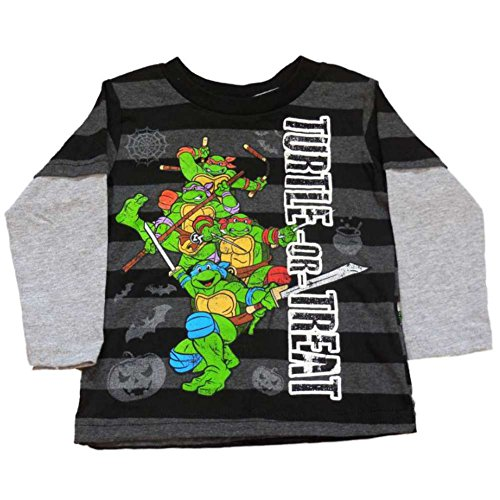 Teenage Mutant Ninja Turtles Infant & Toddler Boys Black Turtle or Treat Shirt