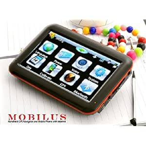 Mobilus – Handheld GPS Navigator and Mobile Phone with Internet