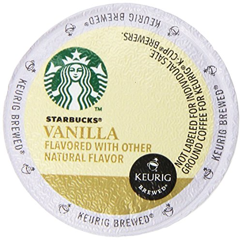 Starbucks Vanilla Coffee Keurig K-Cups, 32 Count (0.35 oz each) (Keurig Pods Starbucks Coffee compare prices)