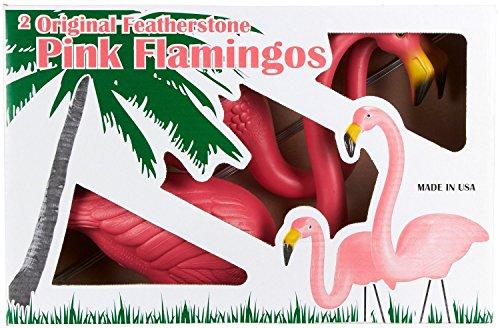 купить Plastic Lawn Flamingos ~ Original Don Featherstone Design ~ Made in the USA! дешево