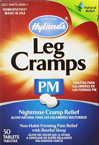 Hyland's Homeopathic Leg Cramps Tablets - 50 Ea (Pack of 2)