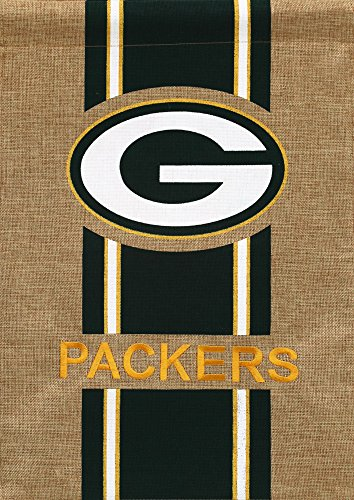 Green Bay Packers Official Nfl 12.5 Inch X 18 Inch Team Burlap Garden Flag front-258270