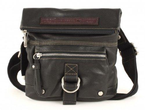 Speichern damen leder Handtaschen FOSSIL WOMEN BAG WOMAN GEARY LTHR SML FLDVER BLACK ZB4983001