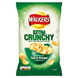 Walkers Extra Crunchy Salt & Malt Vinegar 175g