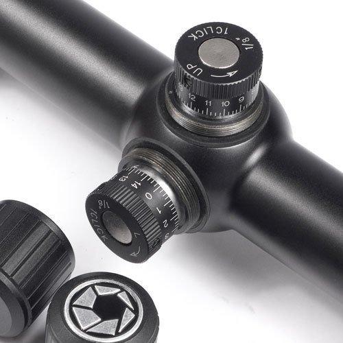BARSKA 6.5-20x50 AO Varmint Target Dot Riflescope