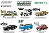New 1:64 GreenLight Collection - HOLLYWOOD SERIES 12 ASSORTMENT Diecast Model Car By Greenlight Set of 6 Cars