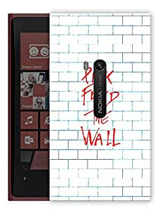 "Humor Gang Pink Floyd The Wall Art Printed Designer Mobile Back Cover For ""Nokia Lumia 920"" (3D, Matte, Premium Quality Snap On Case)"