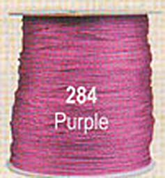 #284 Purple Chainette Shawl Fringe - 1800 ft Spool