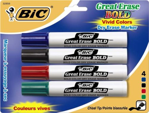 bic-great-erase-bold-dry-erase-tank-marker-chisel-tip-assorted-colors-4-count