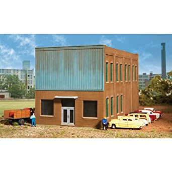 Walthers Cornerstone N Scale Modulars(TM) Paragon Heating (Modernized Front Building)