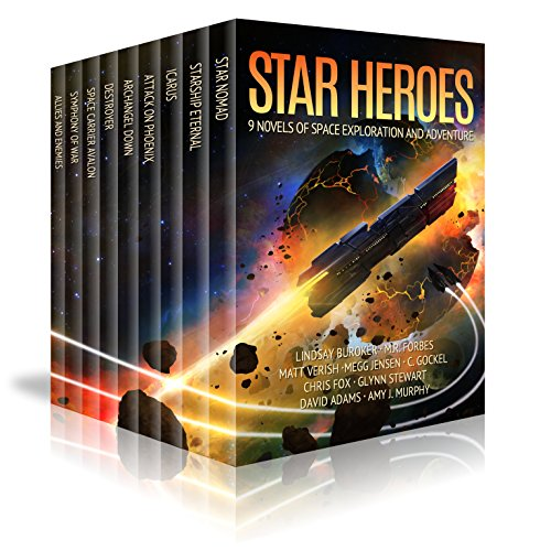 Star Heroes: 9 Novels Of Space Exploration, Aliens, And Adventure by Lindsay Buroker & Others ebook deal