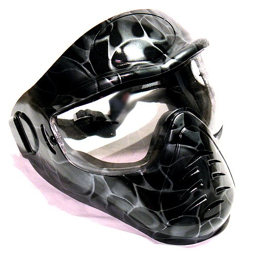 Hakkotsu low fog full face airsoft mask Black
