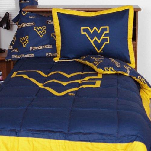 Ncaa West Virginia Mountaineers Collegiate Comforter Set (Queen) front-1015789