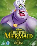 The Little Mermaid [Blu-ray] Disney Villains O-Ring Slipcover Edition UK Import (Region Free) Disney Classics #28