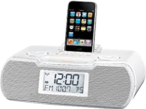 FM-RBDS / AM / Aux-in Digital Tuning Atomic Clock Radio