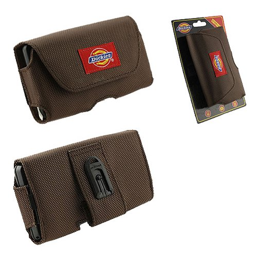 Dickies Tool Bag Nylon Pouch for HTC EVO 3D, ThunderBolt, Sensation, Motorola DROID 3, DROID Bionic, Samsung Nexus S, Infuse 4G and other Mobile Devices - Brown