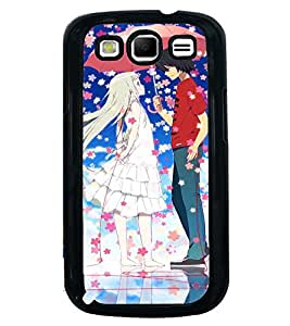 Printvisa Animated Rmantic Couple In A Flower Shower Back Case Cover for Samsung Galaxy S3 Neo::Samsung Galaxy S3 Neo i9300i