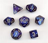 Polyhedral 7-Die Scarab Chessex Dice…
