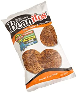 Beanitos Pinto Bean & Flax Chips, 6-Ounce Bags (Pack Of 9)