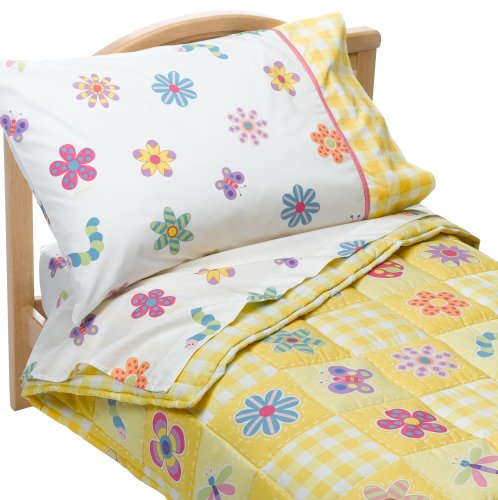 Olive Kids Flowerland Toddler Comforter Bed Set