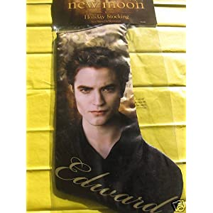 Twilight Saga NEW MOON Team Edward Holiday Chrismas Stocking Neca Merchandise
