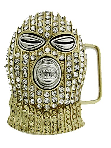 HIP HOP BLING ICED OUT Gold Tone The Boondocks BELT BUCKLE