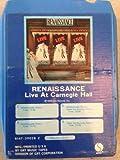 RENAISSANCE Live At Carnegie Hall 8 track tape 1976 Sire Original