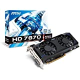 MSI AMD Radeon HD 7870, 2GB GDDR5, PCI Express 3.0 Graphics Card R7870-2GD5T/OC