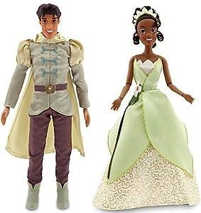 "Frog Prince Naveen Doll and Princess Tiana Doll - 12"" H: Toys & Games"