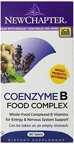 补充精力,New Chapter 食物提取B族维生素 180片图片