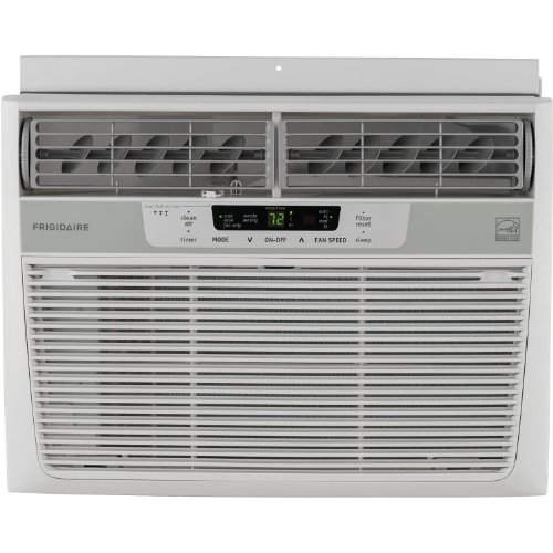 Frigidaire Vitality Star 12,000 BTU 115V Window-Mounted Compact Air Conditioner w/ Temperature Sensing Remote Control, FFRE1233Q1