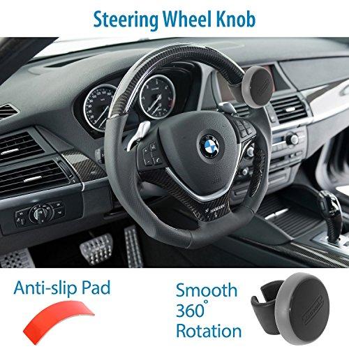 Руководящий системы AutoMuko™ steering wheel knob,