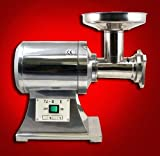 New True 1HP Commercial Stainless Steel Compact Size Electric Meat Grinder #12